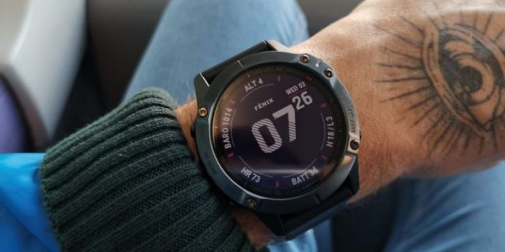 Garmin Fenix 6 GPS hunting and hiking watch